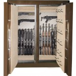 : Interior metal double doors are very safe and strong