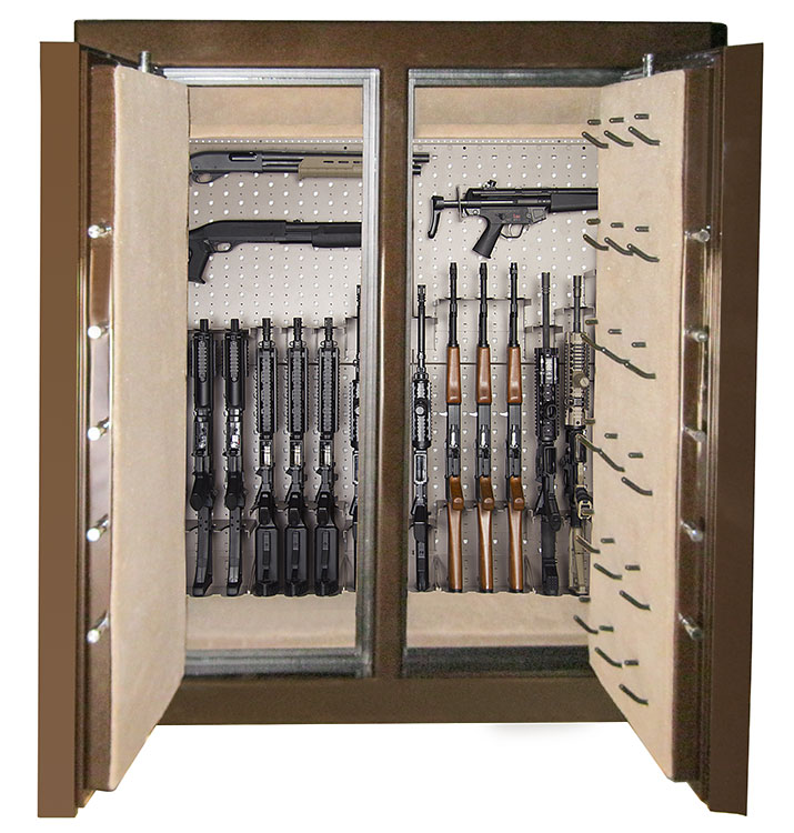 Interior metal double doors are very safe and strong