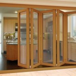 : Interior oak effect doors are made of plastic