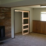 : Interior pocket door rough opening depends on the dimensions