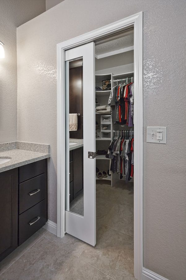 Interior pocket double doors are designed for spacious places