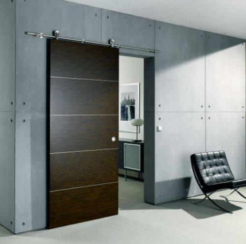 Interior sliding door with lock can protect you from any kinds of intruders immediately