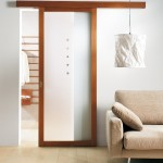 : Interior sliding doors with glass look extremely cool and make any place