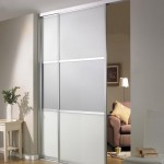 : Interior sliding glass doors are widely used as room dividers