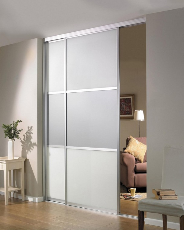 Interior sliding glass doors are widely used as room dividers