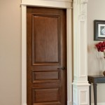 Interior solid wood doors design makes them suitable for any style of the room