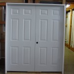 : Interior steel double doors are perfect for banks