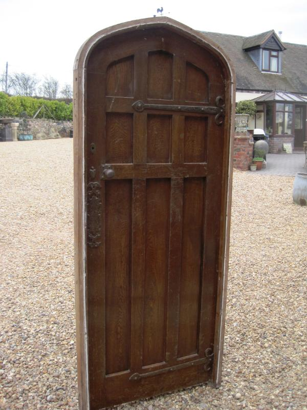 Internal oak doors can be reclaimed from other furniture