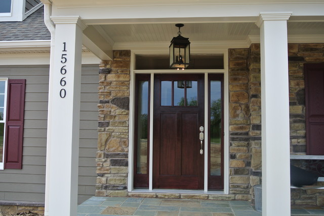craftsman style entry doors as a flashback of the medieval times
