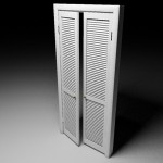 : Louvered interior French doors have distinctive features
