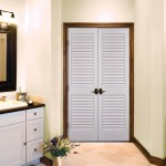 : Louvered interior doors are popular in the UK