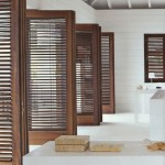 : Louvered interior doors have unique design