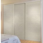 : Louvered interior swinging doors are good for closets