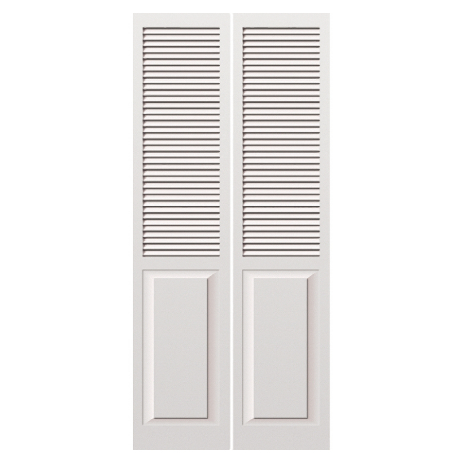 Louvered solid wood interior doors are impressive