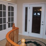: Mobile home interior French doors will dramatically change the look of your small housing