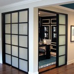 : Mobile home interior sliding doors save additional space in your small house