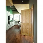 : Oak shaker style internal doors look rich