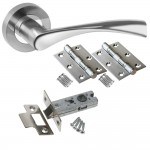 : Packs of internal door handles for bulk purchasers