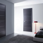 : Panel prefinished interior doors are ideal for a modern house
