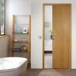 Pocket interior doors are usually made of wood