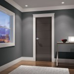 : Prefinished interior doors and trim are easy to install