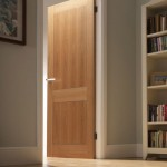 Prefinished interior doors can be made of oak