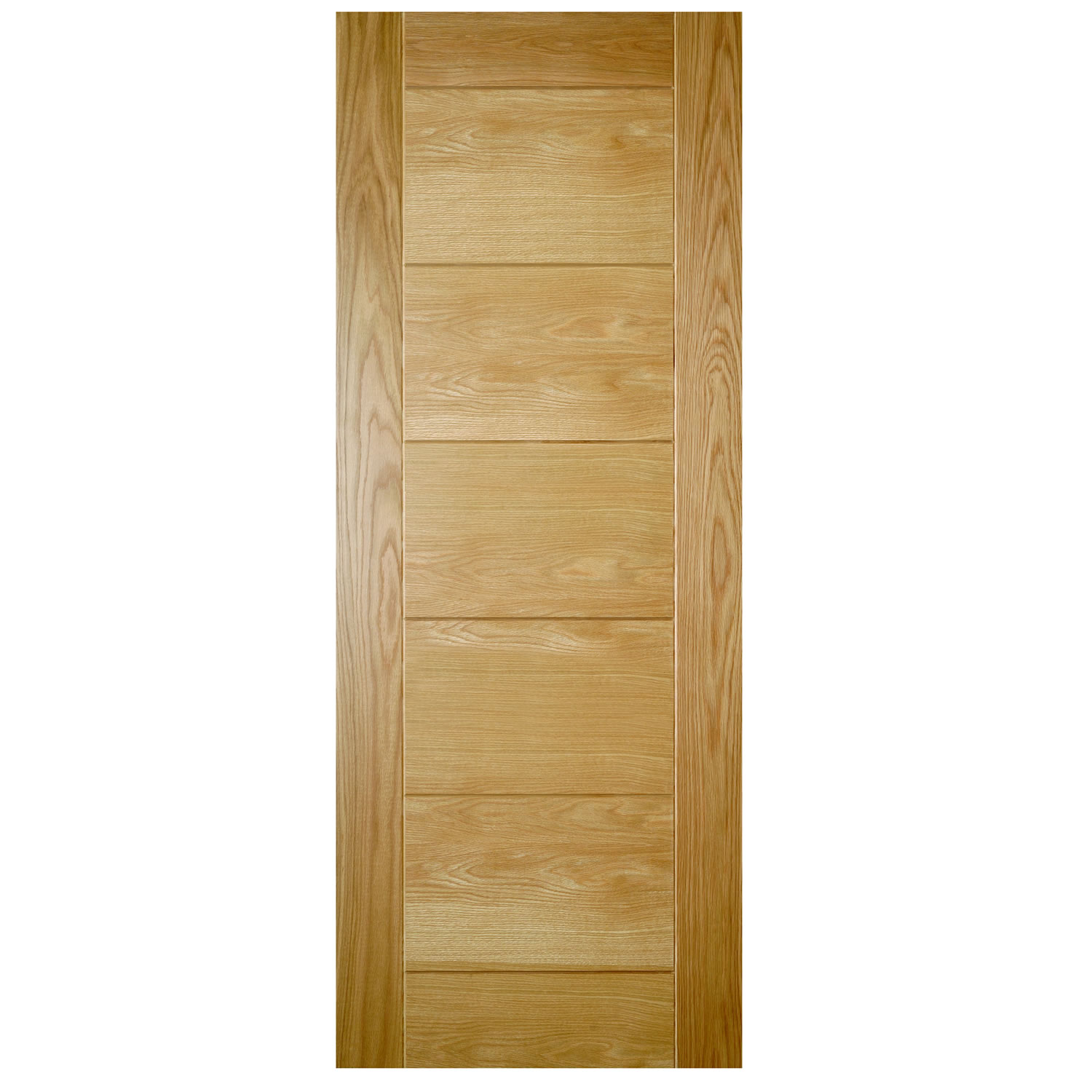 Prefinished internal oak doors are solid