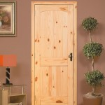 : Prefinished knotty alder interior doors are ready to be installed