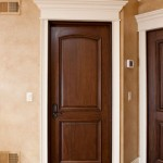 : Prefinished solid core interior doors are good for modern home