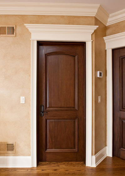 Prefinished solid core interior doors are good for modern home