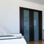 Prefinished solid wood interior doors have sound proof qualities