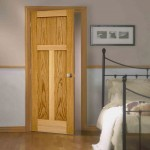 : Prehung craftsman style interior doors can be set up anywhere and