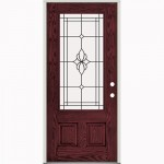 : Prehung exterior door are durable for rough opening