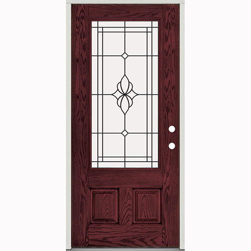 Prehung exterior door are durable for rough opening
