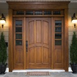 : Prehung exterior door threshold is a traditional choice