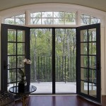 : Prehung exterior door with screen door is a contemporary option