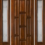 : Prehung exterior door with transom are convenient