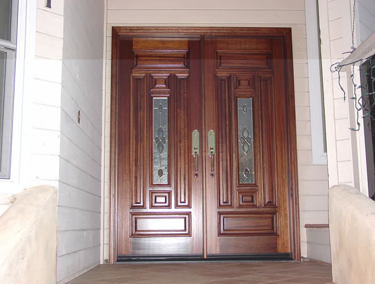 Prehung exterior timber doors are durable and quality