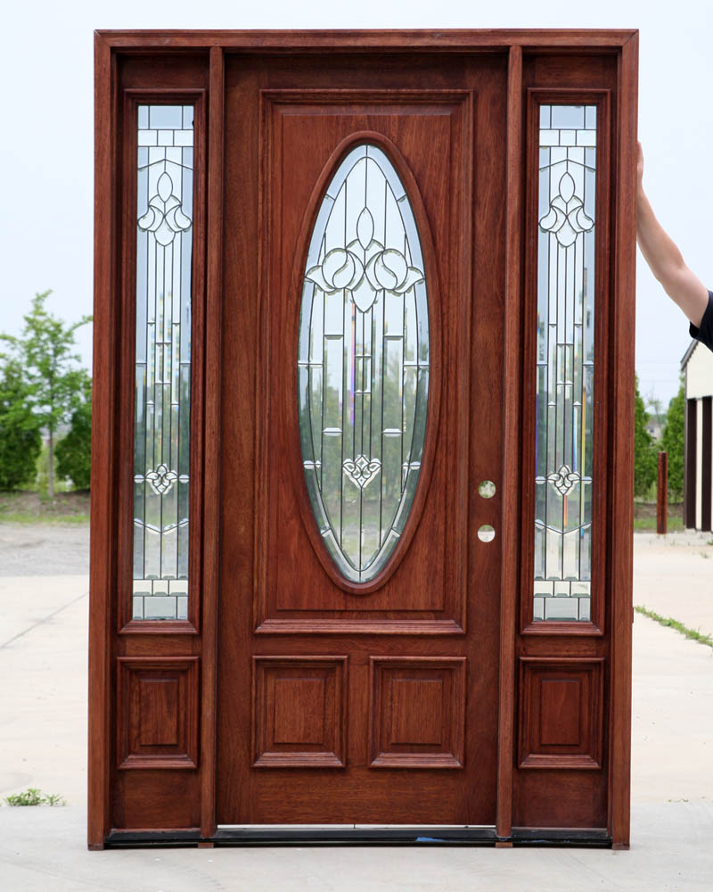 Prehung exterior utility doors are affordable