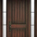 : Quality exterior fiberglass doors are stylish and chic