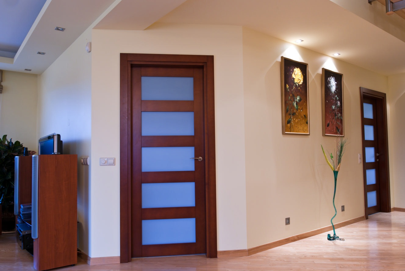 Real oak interior doors are quality ones