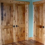 : Reclaimed solid wood interior doors sometimes may look better than original models