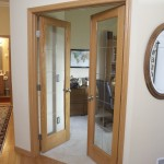 : Replacement of glass panels for interior doors needs the knowledge