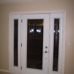 Replacement of interior door frames can be made easily