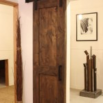 : Replacement of interior door hardware change the rooms style