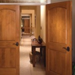 : Replacement of interior wood doors is made with special tools