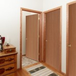 : Replacement of solid wood interior doors will enhance the ambience