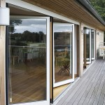 : Residential folding exterior doors are often chosen for stylish households