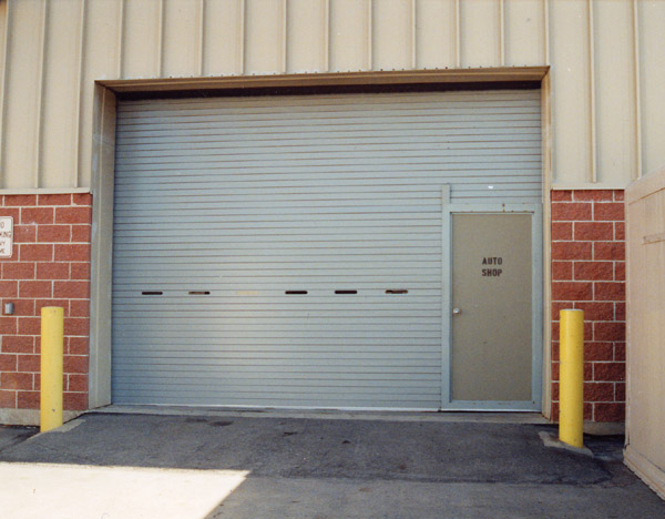Roll up door with pass door can be chosen for garage or your barn