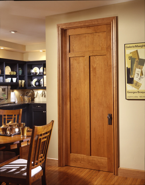 Slab craftsman interior door can be bought for cheap and still they can make